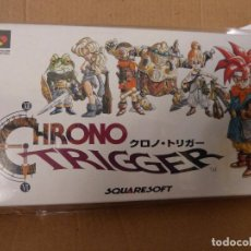 Videojuegos y Consolas: CHRONO TRIGGER (VERSIÓN ORIGINAL JAPONESA DE IMPORTACIÓN, DISEÑADO POR AKIRA TORIYAMA). Lote 92103340