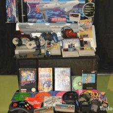 Videojuegos y Consolas: GRAN LOTE VIDEOCONSOLAS, JUEGOS Y ACCESORIOS. NES SNES PLAYSTATION NINTENDO SEGA SONY. Lote 92714545