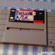 Videojuegos y Consolas: NHLPA HOCKEY JUEGO PARA SUPER NINTENDO SNES NTSC USA SOLO CARTUCHO. Lote 94090345