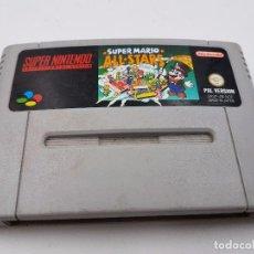 Videojuegos y Consolas: JUEGO SUPER MARIO ALL STARS SUPER NINTENDO SNES PAL.COMBINO ENVIO. Lote 94156395