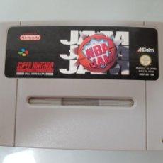 Videojuegos y Consolas: JUEGO NBA JAM SUPER NINTENDO PAL. Lote 94572639