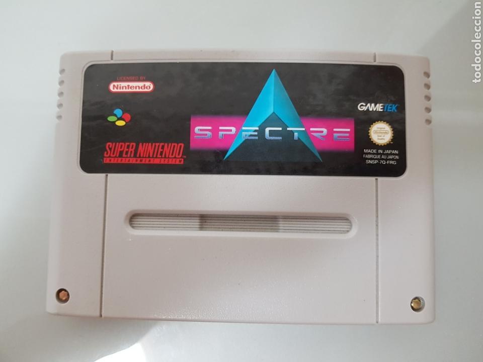 JUEGO SPECTRE SUPER NINTENDO SNES (Juguetes - Videojuegos y Consolas - Nintendo - SuperNintendo)