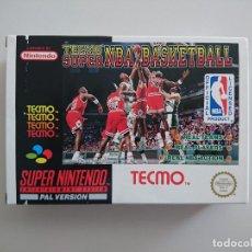 Videojuegos y Consolas: SUPER TECMO NBA BASKETBALL. Lote 95267087