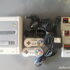 Videojuegos y Consolas: SUPER NINTENDO SNES . Lote 95467095