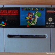 Videojuegos y Consolas: JUEGO SUPERNINTENDO SUPER MARIO WORLD. Lote 95476107