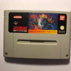 Videojuegos y Consolas: VIDEOJUEGO POWER RANGERS THE FIGHTING EDITION - CARTUCHO SUPER NINTENDO - 1992. Lote 95732691