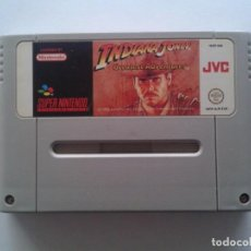 Videojuegos y Consolas: JUEGO SUPER NINTENDO SNES INDIANA JONES GREATEST ADVENTURES PAL SOLO CARTUCHO R6536. Lote 96098995