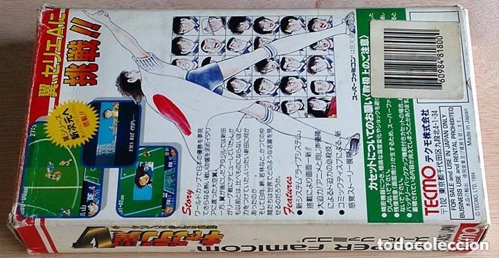 Videojuegos y Consolas: Capitan Tsubasa V 5 / Super Famicom Nintendo SNES / NTSC / TECMO 1994 (Campeones Oliver y Benji) - Foto 3 - 96228671