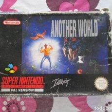 Videojuegos y Consolas: ANOTHER WORLD SUPER NINTENDO SNES PAL ESP. Lote 96574271