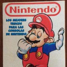 Videojuegos y Consolas: LOS MEJORES TRUCOS PARA LAS CONSOLAS DE NINTENDO- 1993. Lote 96700643