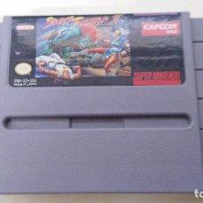 Videojuegos y Consolas: JUEGO PARA SUPER NINTENDO STREET FIGHTER II. Lote 97264779