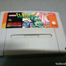 Videojuegos y Consolas: SUPER NINTENDO -WHIRLO - PAL VERSION - SNSP SR ESP - NAMCO/1992 ( VERY RARE) . Lote 97309091