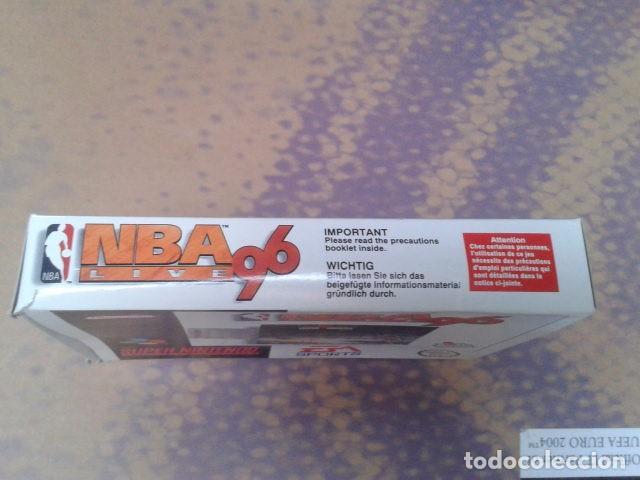 Videojuegos y Consolas: JUEGO SUPER NINTENDO NBA LIVE 96 - NEXT GENERATION NBA DE 1995 - EM SPORTS ( SNSP P A6BP ) COMPLETO - Foto 4 - 97381711