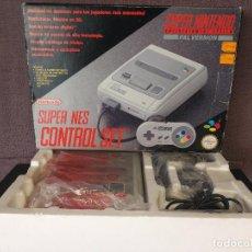 Videojuegos y Consolas: CONSOLA SUPER NINTENDO EN CAJA COMO NUEVA. Lote 97766027