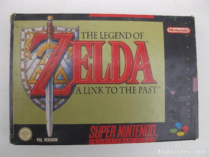 THE LEGEND OF ZELDA - A LINK TO THE PAST - SUPER NINTENDO - PAL - EN CAJA Y CON INSTRUCCIONES. (Juguetes - Videojuegos y Consolas - Nintendo - SuperNintendo)