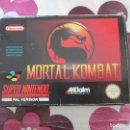 Videojuegos y Consolas: MORTAL KOMBAT SUPER NINTENDO SNES PAL UKV. Lote 98136659