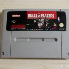 Videojuegos y Consolas: BULLS VS BLAZERS SNES. Lote 98945559