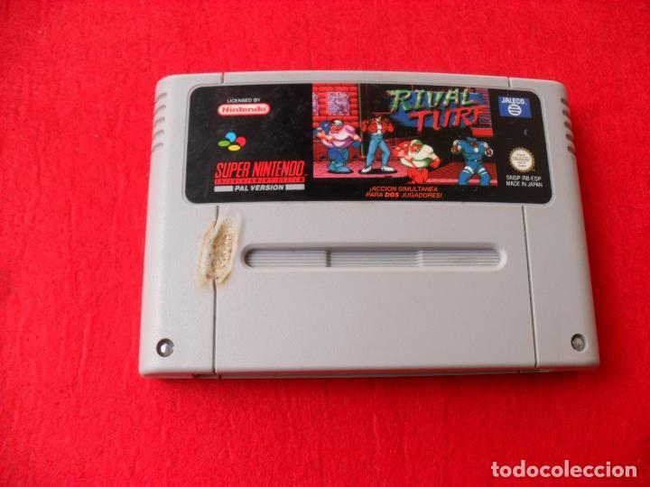 JUEGO SUPERNINTENDO RIVAL TRUF (Juguetes - Videojuegos y Consolas - Nintendo - SuperNintendo)