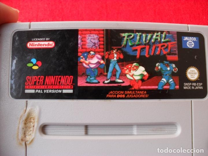 Videojuegos y Consolas: juego supernintendo rival truf - Foto 2 - 99084975