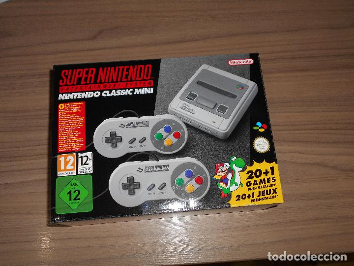 CONSOLA SUPER NINTENDO MINI CON 2 MANDOS 21 JUEGOS CASTLEVANIA , ZELDA ETC.. NUEVA SIN ESTRENAR (Juguetes - Videojuegos y Consolas - Nintendo - SuperNintendo)