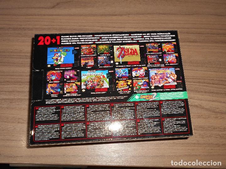 Videojuegos y Consolas: Consola SUPER NINTENDO MINI con 2 MANDOS 21 Juegos CASTLEVANIA , ZELDA ETC.. NUEVA SIN ESTRENAR - Foto 2 - 99184027