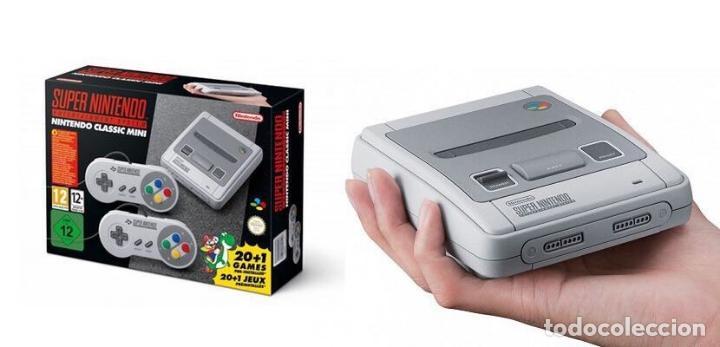 Videojuegos y Consolas: Consola SUPER NINTENDO MINI con 2 MANDOS 21 Juegos CASTLEVANIA , ZELDA ETC.. NUEVA SIN ESTRENAR - Foto 3 - 99184027