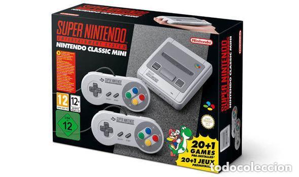 Videojuegos y Consolas: Consola SUPER NINTENDO MINI con 2 MANDOS 21 Juegos CASTLEVANIA , ZELDA ETC.. NUEVA SIN ESTRENAR - Foto 4 - 99184027