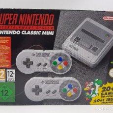 Videojuegos y Consolas: CONSOLA SUPER NINTENDO SNES - CLASSIC MINI - NUEVA A ESTRENAR. ENVIO 24 HORAS.. Lote 99450387