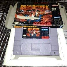 Videojuegos y Consolas: BRAWL BROTHERS SNES / SUPERNINTENDO / NINTENDO. Lote 189805596