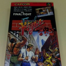 Final Fight japonés para Nintendo Super Famicom