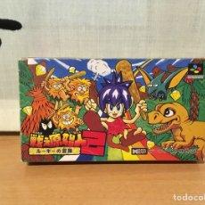 Videojuegos y Consolas: CONGO'S CAPER DE SUPER NINTENDO SNES. Lote 100518914