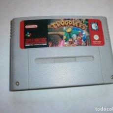 Videojuegos y Consolas: TRODDLERS SUPER NINTENDO SNES PAL ESP SOLO CARTUCHO. Lote 100553175