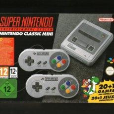 Videojuegos y Consolas: SUPER NINTENDO CLASSIC MINI SNES - COMPLETAMENTE NUEVA. Lote 100584203