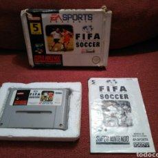 Videojuegos y Consolas: JUEGO FIFA SOCCER SUPER NINTENDO SNES. Lote 101410868