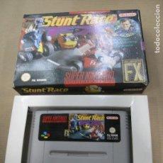 Videojuegos y Consolas: JUEGO STUNT RACE FX SUPER NINTENDO PAL VERSION ESPAÑOL. Lote 101638995