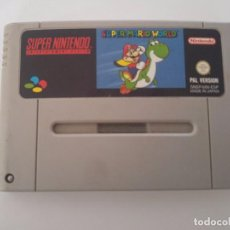 Videojuegos y Consolas: SUPER MARIO WORLD SNES SUPER NINTENDO PAL-ESPAÑA ORIGINAL 100%. Lote 101693083
