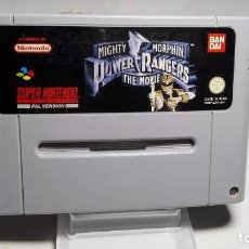 Videojuegos y Consolas: POWER RANGERS - THE MOVIE ( SNES- SUPER NINTENDO -PAL) ( JC8). Lote 101722287