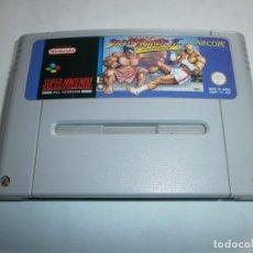Videojuegos y Consolas: STREET FIGHTER 2 TURBO SUPER NINTENDO SNES PAL ESPAÑA SOLO CARTUCHO. Lote 118547610