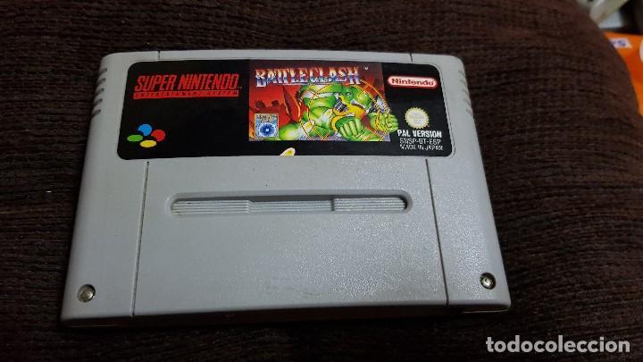 SUPER NINTENDO JUEGO BATTLE CLASH PAL VERSION ESPAÑOL. SNES 1992 (Juguetes - Videojuegos y Consolas - Nintendo - SuperNintendo)