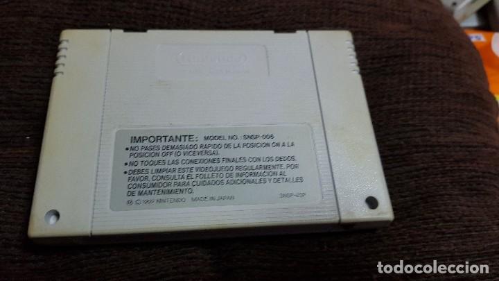 Videojuegos y Consolas: SUPER NINTENDO JUEGO BATTLE CLASH PAL VERSION ESPAÑOL. SNES 1992 - Foto 2 - 102051887