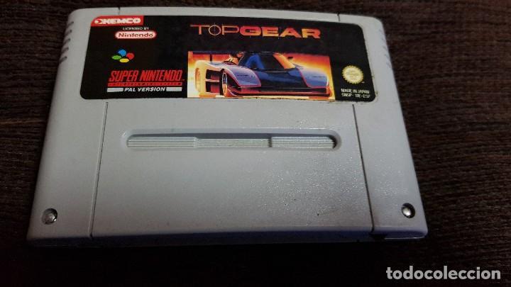 SUPER NINTENDO JUEGO TOPGEAR PAL VERSION ESPAÑOL SNES (Juguetes - Videojuegos y Consolas - Nintendo - SuperNintendo)