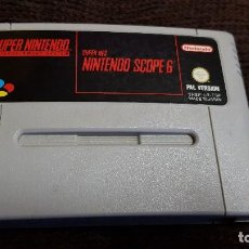 Videojuegos y Consolas: SUPER NINTENDO JUEGO SCOPE 6 PAL VERSION ESPAÑOL. SNES SUPERNINTENDO. Lote 102054835