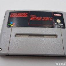 Videojuegos y Consolas: JUEGO NINTENDO SCOPE 6 SUPER NINTENDO NES ESPAÑA SNES PAL.COMBINO ENVIO. Lote 125374971