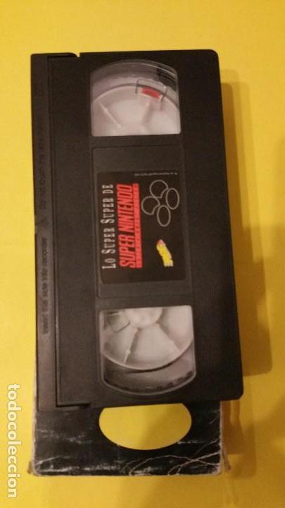 Videojuegos y Consolas: VHS promocional SUPER NINTENDO, ERBE - Foto 3 - 103724259