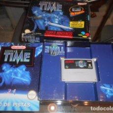 Videojuegos y Consolas: JUEGO SUPER NINTENDO - ILLUSION OF TIME - CON CAJA Y INSTRUCCIONES - VER FOTOS. Lote 103789827