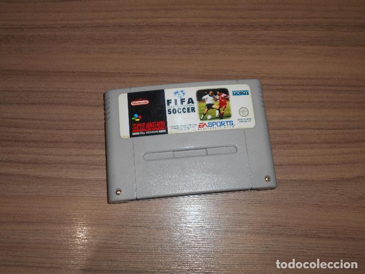 FIFA INTERNATIONAL SOCCER JUEGO ORIGINAL SUPER NINTENDO SNES PAL ESPAÑA (Juguetes - Videojuegos y Consolas - Nintendo - SuperNintendo)