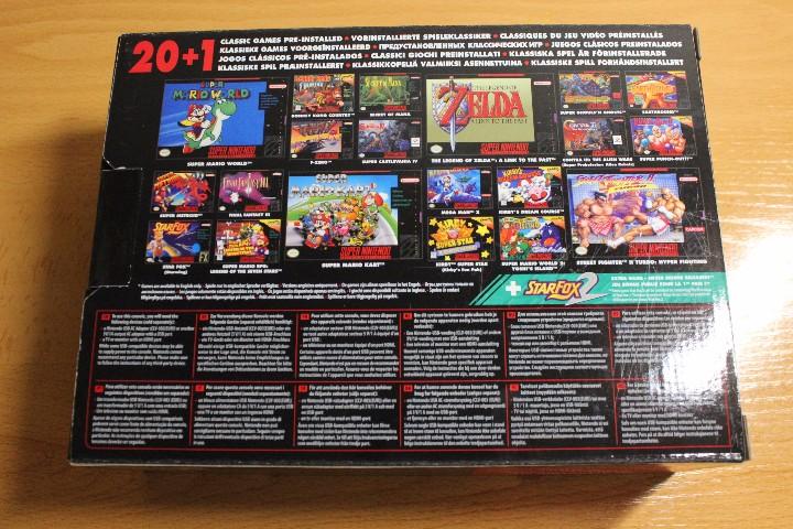 Videoconsola Consola Super Nintendo Snes Mini C Comprar