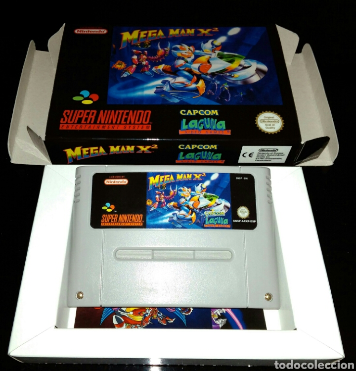 Megaman x2 snes (repro) / nintendo - Sold through Direct