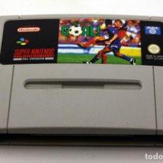 Videojuegos y Consolas: SUPER GOAL - SNES - CARTUCHO PARA CONSOLA SUPER NINTENDO - VERSIÓN PAL. Lote 105100603