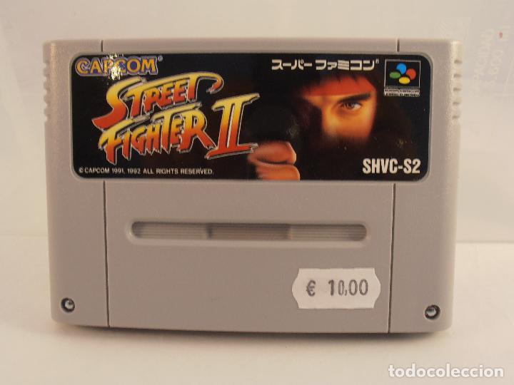 JUEGO SUPER STREET FIGHTER II, SOLO CARTUCHO, NINTENDO SUPER FAMICOM,VERSION JAPONESA (Juguetes - Videojuegos y Consolas - Nintendo - SuperNintendo)